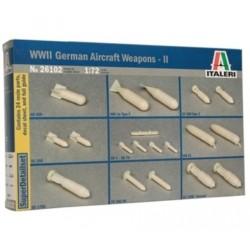 Italeri 26102, Luftwaffe Weapons, skala 1:72