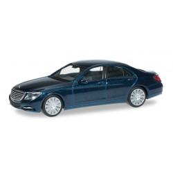 Herpa 038287, Mercedes-Benz S-class, canvasti blue, H0