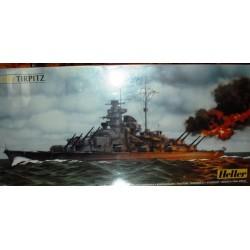 Heller 81079, Tirpitz, skala 1:400