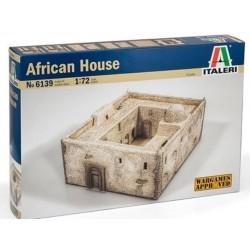 Italeri 6139, African House 19x23x13 cm, skala 1:72