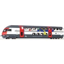 Roco 64856, Wagon piętrowy SBB ep.V-VI, H0