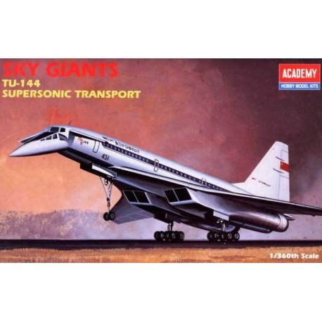 Academy 1699, Tu-144 Aeroflot, skala 1:360