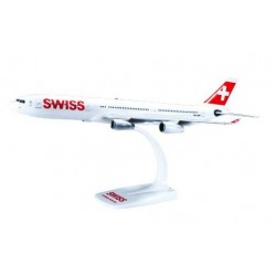 Herpa 610117, Swiss International Air Lines Airbus A340-300, 1:200