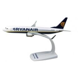 Herpa 609395, Boeing B737-800 Ryanair (skala 1:200).