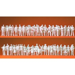Preiser 74090, Figurki osób, skala 1:100 (190szt.)