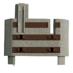 Roco 61183 -1, Końcówka torów Flex GeoLine H0, 1 sztuka.
