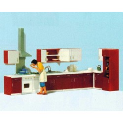 Preiser 10646, W kuchni..., skala H0