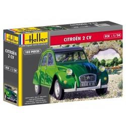 Heller 80765, CITROEN 2 CV, skala 1:24