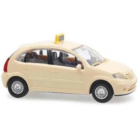 Rietze 31160, Citroen C3, Taxi, skala H0