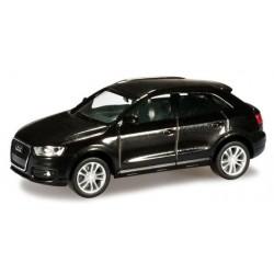 Herpa 034821-003, Audi Q3®, phantomschwarz metallic, H0