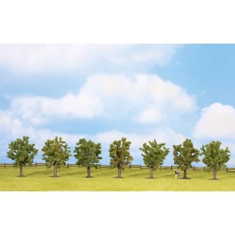 NOCH 25090, Zestaw drzew owocowych 8 cm / 7 szt