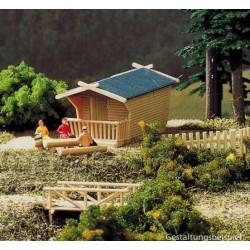 Auhagen 99030A, Domek piknikowy plus...