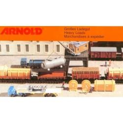 Arnold 6490, Zestaw ładunków, skala N