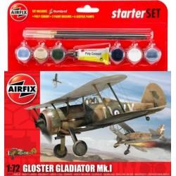 Airfix 55206, Gloster Gladiator Mk.I, 1:72, zestaw