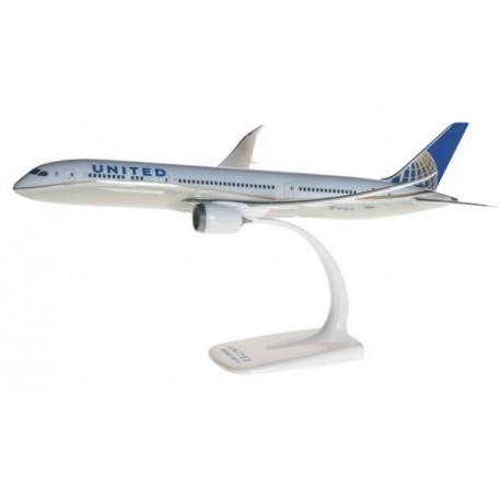 Herpa 610452, United Airlines Boeing 787-9 Dreamliner, 1:200