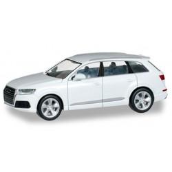 Herpa 028448, Audi Q7, carrara white, H0