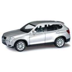 Herpa 034630, BMW X3™, titan silver, skala H0