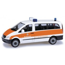 "Herpa 700535, Mercedes-Benz Vito bus ""Bundeswehr..."", skala H0."