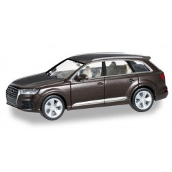 Herpa 038447, Audi Q7, argus brown metallic, skala H0