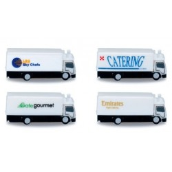 Herpa 520577, Airport accessories: catering vehicles