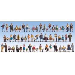 "NOCH 37070, ""Mega Set"" 60 figurek malowanych, skala N"