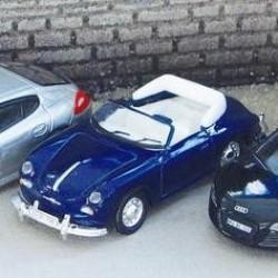 Schuco PIKO 6200, Porsche 356 Cabrio, skala H0