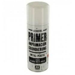Vallejo 28010, Farba podkładowa biała, spray, 400 ml.