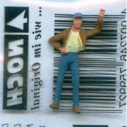NOCH 116-001, osoba stojąca, skala H0