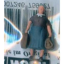 """NOCH 118-036, osoba stojąca, """"Pani z bagażem"""", figurka, skala N"""
