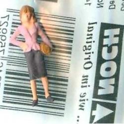 """NOCH 120-039, osoba stojąca, """"Kobieta II"""", figurka, skala TT"""