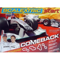 Scalextric C1268, Zestaw F1 start Comeback, 1:32