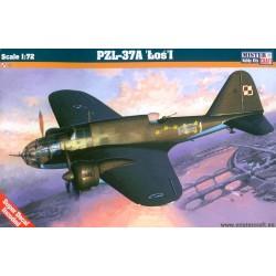 MisterCraft D-06, PZL P-37A Łoś I, skala 1:72