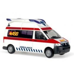 Rietze 51879, VW T5 Hornis Blue ASB Bremen, skala H0