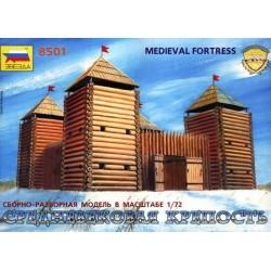 ZVEZDA 8501, Średniowieczna forteca, 1:72