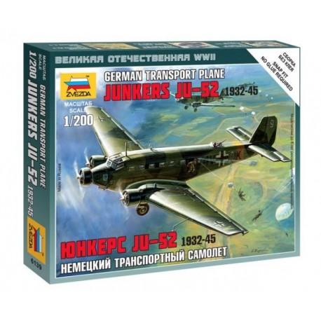 Zvezda 6139, Junkers Ju-52 1932-45, skala 1:144