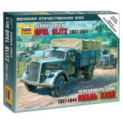 Zvezda 6126, Opel Blitz (1937-1944), skala 1:100