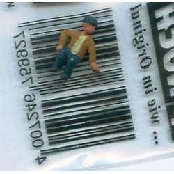 """NOCH 118-052, osoba siedząca, """"Chłopiec"""", figurka, skala N"""