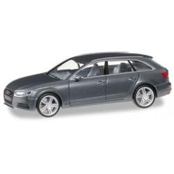 Herpa 038577, Audi A4 ® Avant, monsun grey metallic, H0