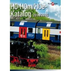 th015 09573, TILLIG H0-H0m-H0e katalog 2014 / 2015