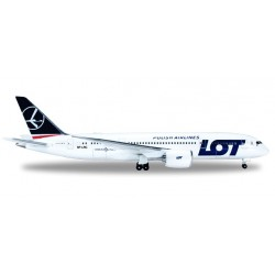 Herpa 519069 002, Boeing 787-8 LOT (SP-LRF) 1:500