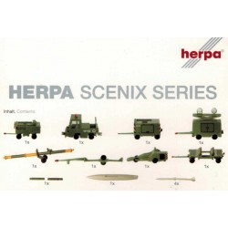 Herpa 551687, Accessories: Ground support equipment, 1:200