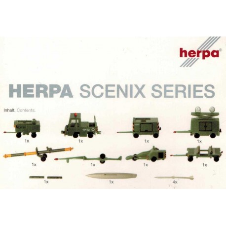 Herpa 551687, Accessories: Ground support equipment, 1:200