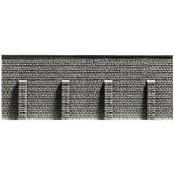NOCH 34856, Mur oporowy z przyporami, skala N