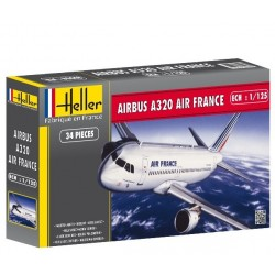 Heller 80448, Air France Airbus A320, skala 1:125