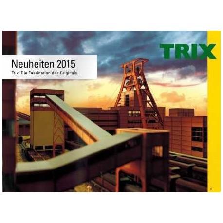 TRIX Katalog 2015 News