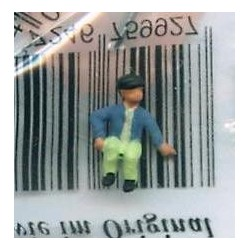 "NOCH 120-060, osoba siedząca, ""Chłopiec II"", figurka, skala TT"