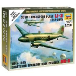 Zvezda 6140, Soviet Li-2 Transport Plane (1942-1945), 1:200