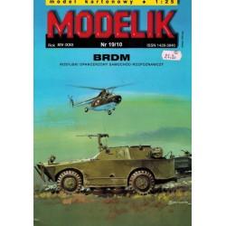 MODELIK 1019, BRDM, skala 1:25