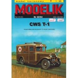 MODELIK 0422, CWS T-1, skala 1:25
