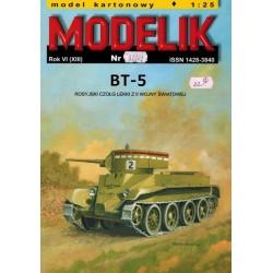 MODELIK 0212, BT-5, skala 1:25